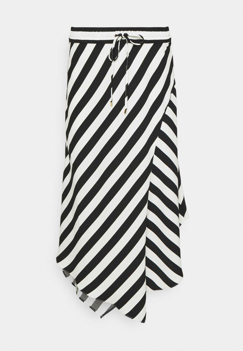 Lauren Ralph Lauren - HANIF SKIRT - A-line skirt - white/black