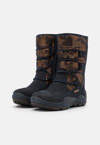 Primigi - Winter boots - notte/bronzo - 1