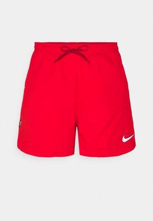 FC SHORT - Pantalón corto de deporte - chile red/white