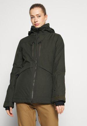 SHELTER 3D JACKET - Snowboard jacket - black green