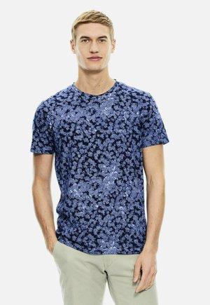 Print T-shirt - blue glow