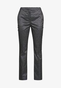 KARL LAGERFELD - SPARKLE TUXEDO PANTS - Kalhoty - black - 5