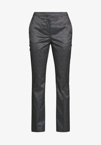SPARKLE TUXEDO PANTS - Trousers - black