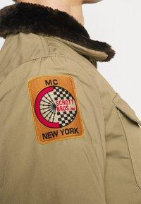 Schott - JEEPER - Winter jacket - beige - 8