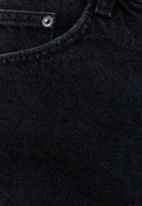 Bershka - Szorty jeansowe - black - 5