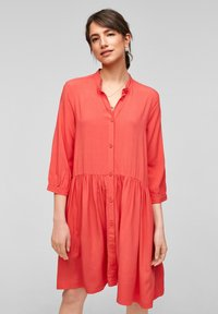 QS by s.Oliver - Shirt dress - red - 0