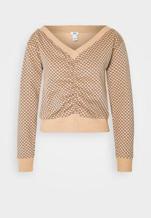 Sweatshirt - beige