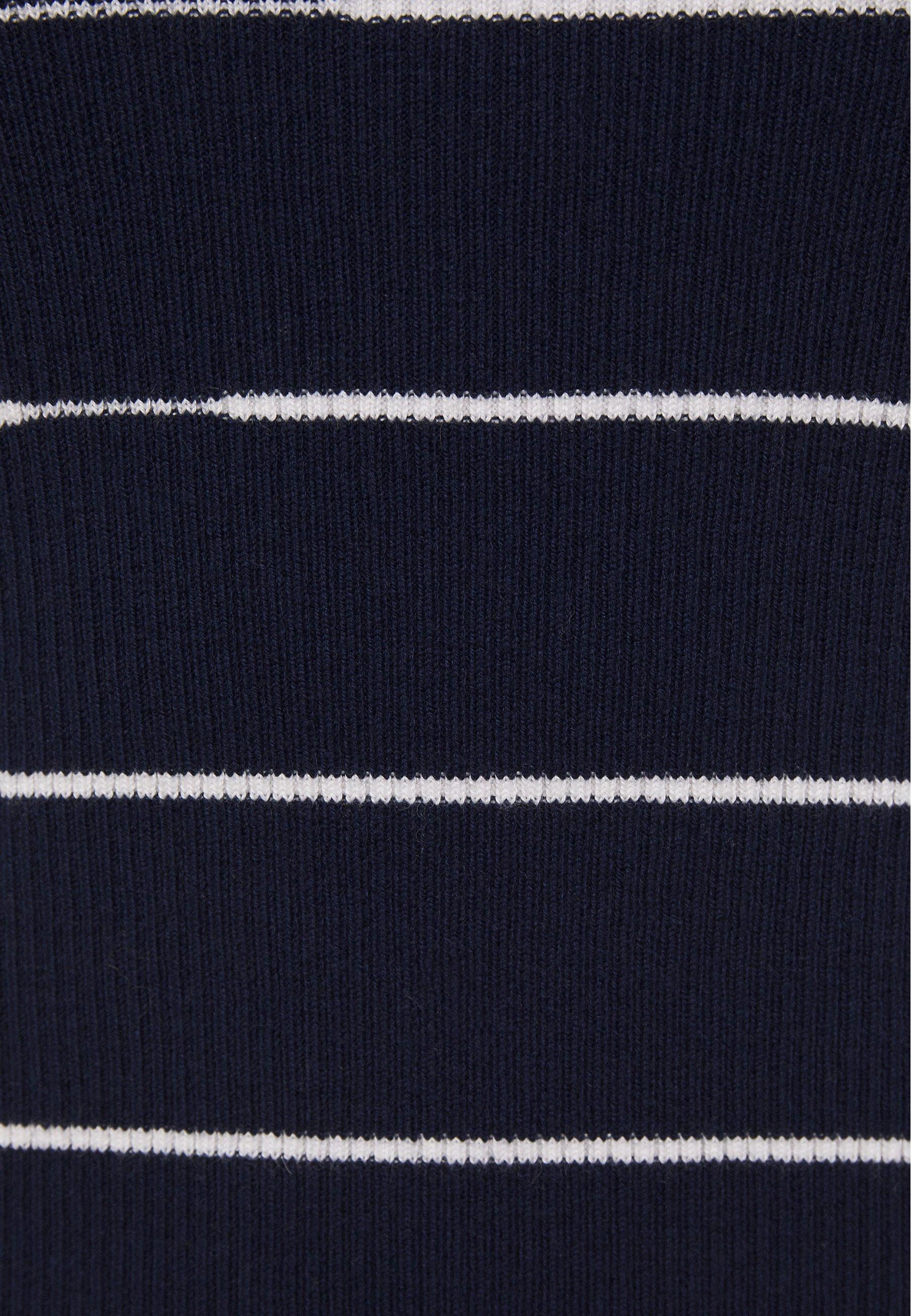 3.1 Phillip Lim Striped - T-shirts Med Print Navy/white/blå