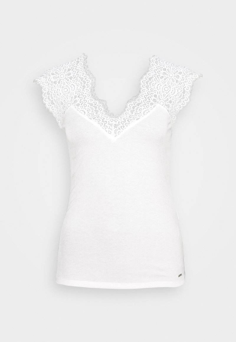 Morgan - DENA - Jednoduché triko - off-white