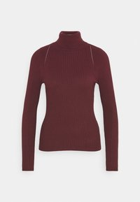 ONLY - ONLELLY ROLLNECK - Jumper - tawny port - 3