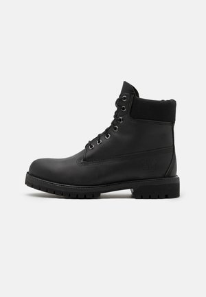 "6"" PREMIUM BOOT - Lace-up ankle boots - black"