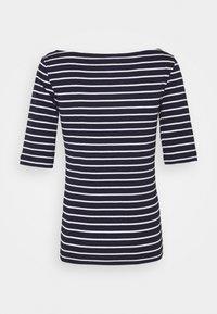 GAP - BOATNECK - Print T-shirt - navy/white - 1