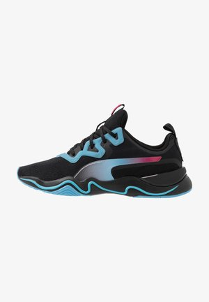 ZONE XT JELLY - Sports shoes - black/ethereal blue