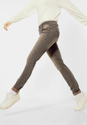 Slim fit jeans - hot sand brillant wash