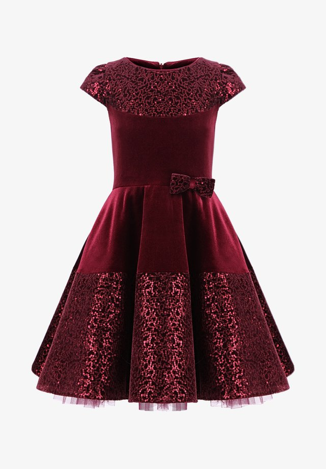 Robe de soirée - burgundy red