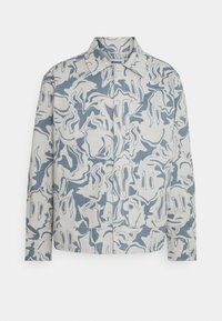 ROLAND OVERSHIRT UNISEX - Farkkutakki - light blue