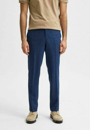 Trousers - neon blue
