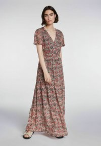 SET - Maxi dress - white red - 0