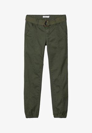 TWILLWEB  - Trousers - thyme