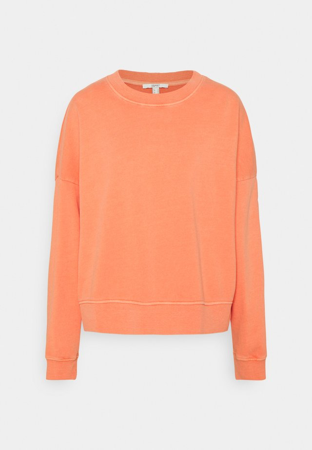 FLOW - Bluza - coral orange