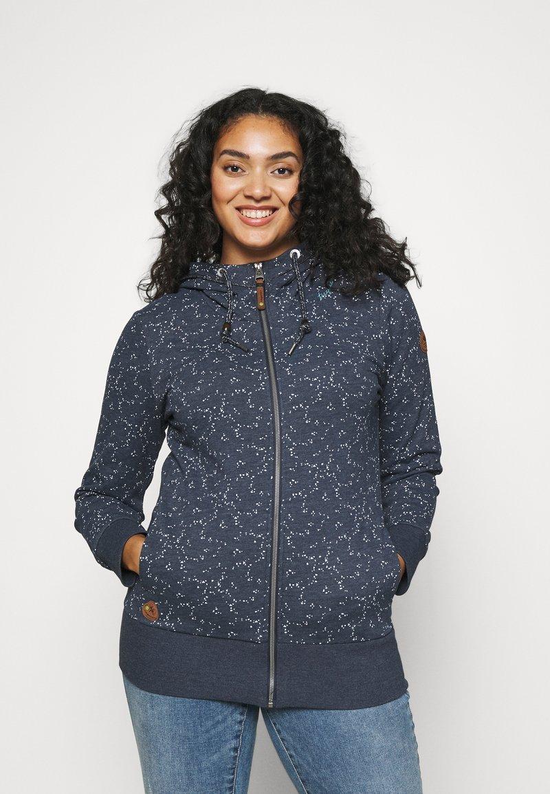 Ragwear Plus - YODA ORGANIC - Zip-up hoodie - navy