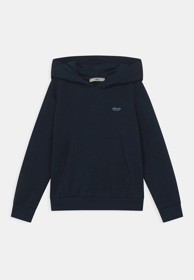 JIHEYA LOGO HOODY - Sweatshirt - navy blazer