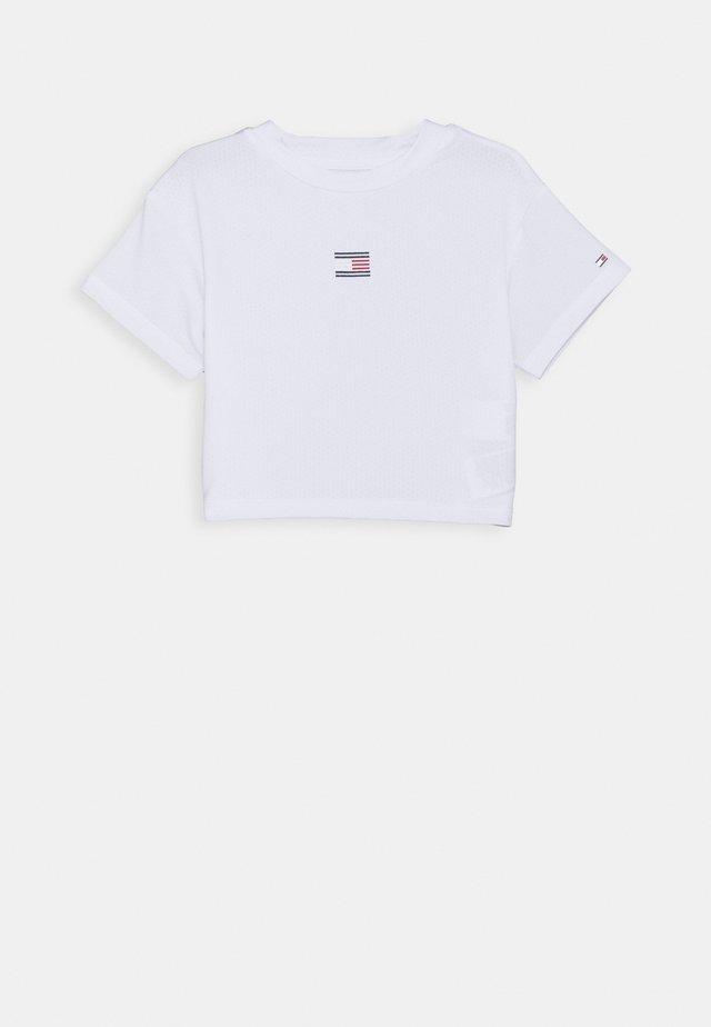 SPORT TEE - Print T-shirt - white