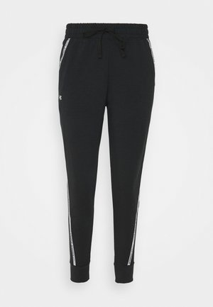 RIVAL TAPED PANT - Verryttelyhousut - black