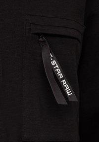G-Star - BASEBALL  ZIP POCKET - Shirt - dk black - 2