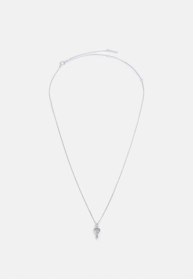 CO ETERNUM NECKLACE - Collar - silver-coloured