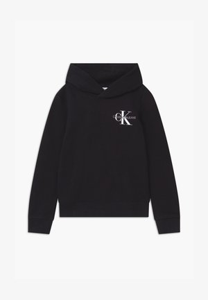 SMALL MONOGRAM - Bluza z kapturem - black