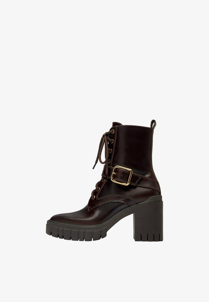 Uterqüe - Veterboots - brown