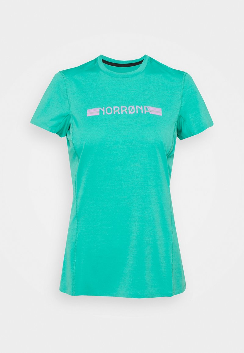 Norrøna - BITIHORN TECH - T-shirt imprimé - arcadia