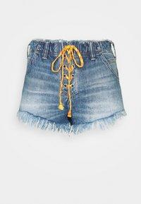Free People - SLOUCHY CUTOFF - Denim shorts - indigo blue - 3