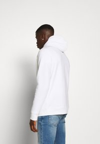 Abercrombie & Fitch - EXPLODED ICON POPOVER - Jersey con capucha - white - 2