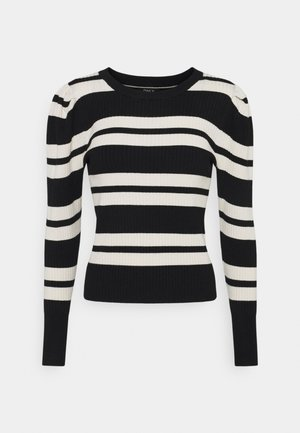 ONLEMMY PUFF - Jumper - black/birch