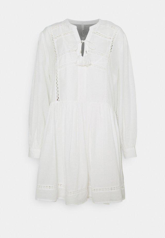 AVA - Korte jurk - off white