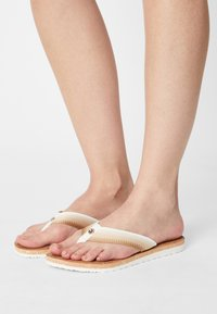 Tommy Hilfiger - GRADIENT BEACH  - Pool shoes - ecru - 0
