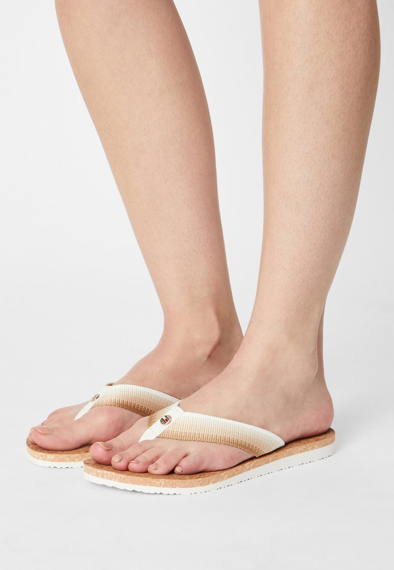 Tommy Hilfiger - GRADIENT BEACH  - Pool shoes - ecru