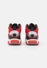 Geox - INEK BOY - High-top trainers - grey/red - 2