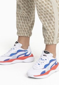 Puma - Trainers - white-palace blue - 0