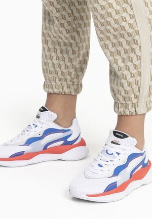Trainers - white-palace blue