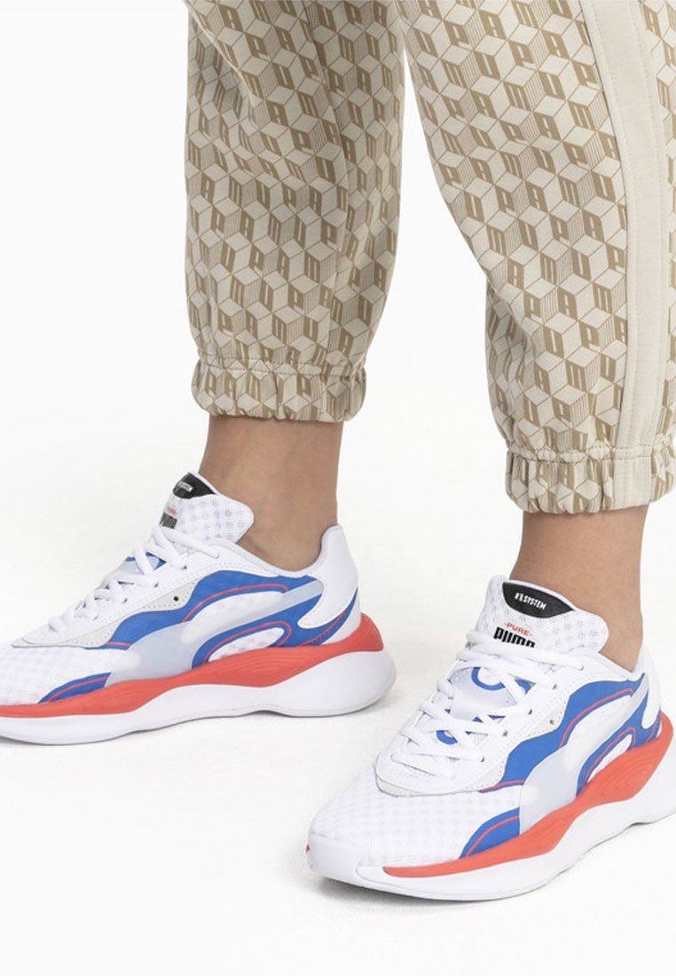 Puma - Trainers - white-palace blue