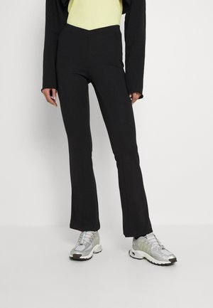 CECILE TROUSERS - Trousers - black