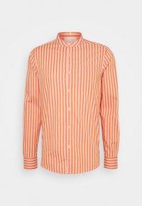 Scotch & Soda - LIGHTWEIGHT STRIPED SHIRT - Shirt - orange - 0