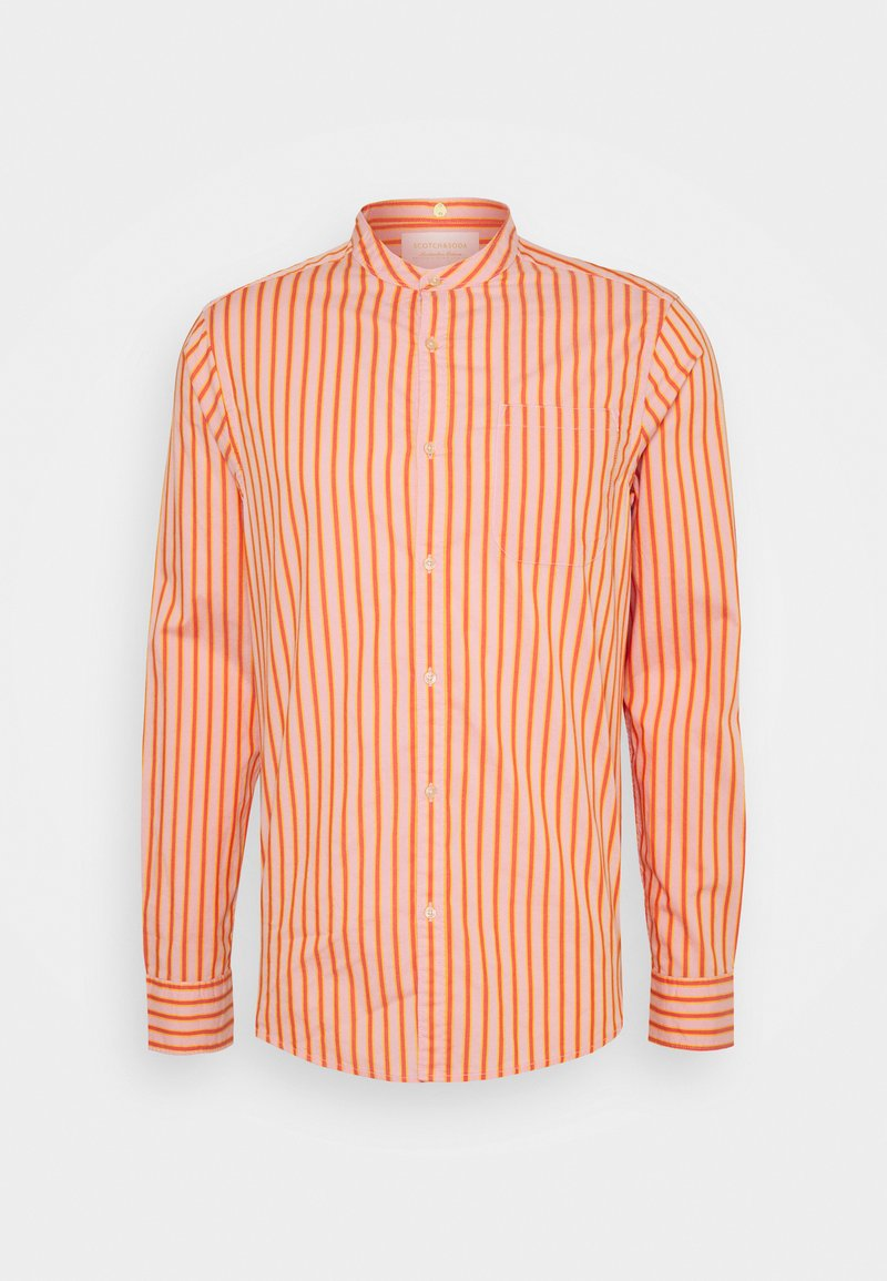 Scotch & Soda - LIGHTWEIGHT STRIPED SHIRT - Shirt - orange