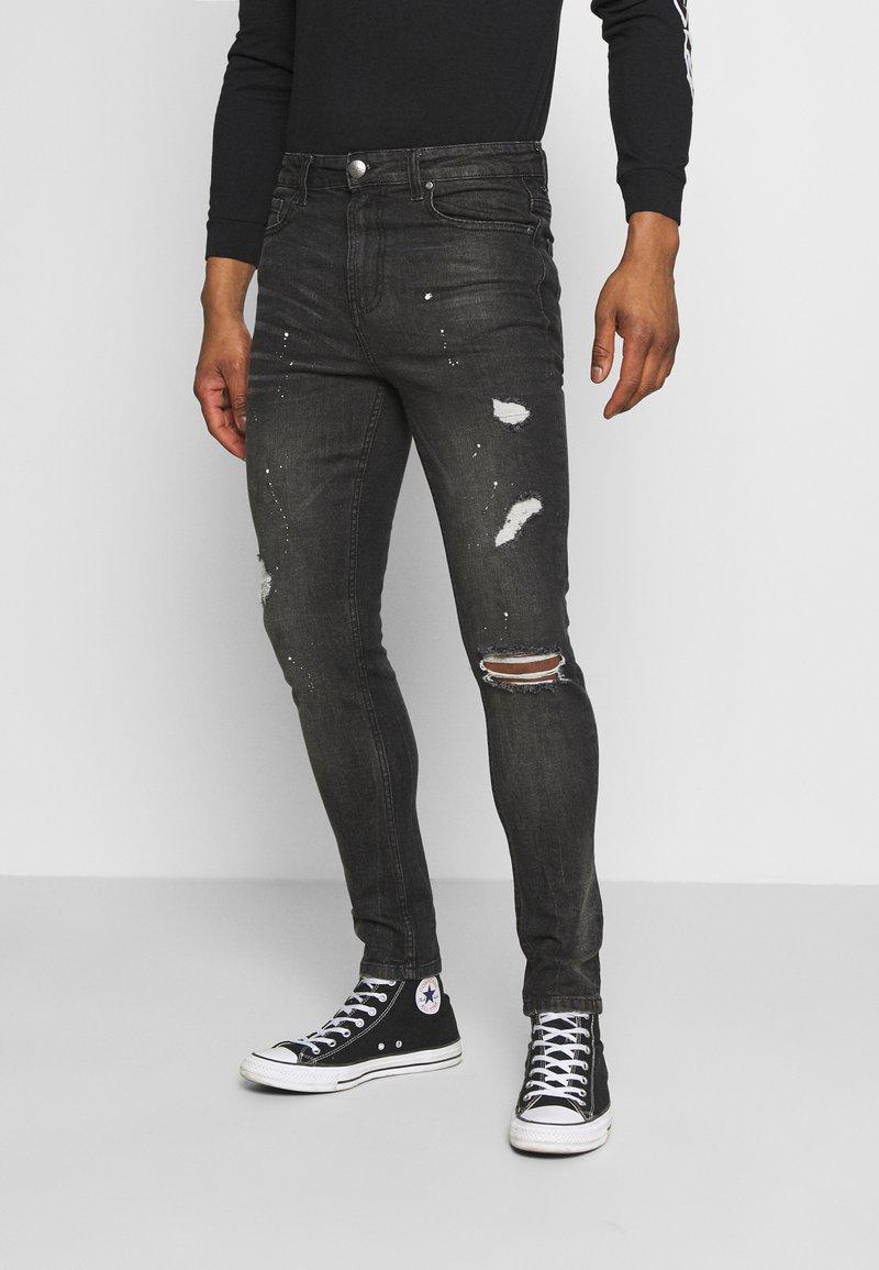 274 - DALLAS - Skinny džíny - black