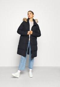 Superdry - LOUISA COAT - Down coat - blue graphite - 1