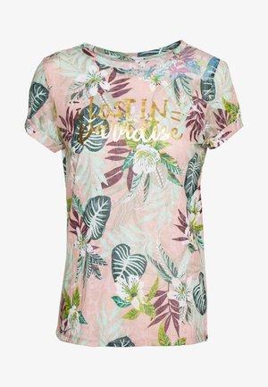 ONLRILLA O NECK  - Print T-shirt - misty rose