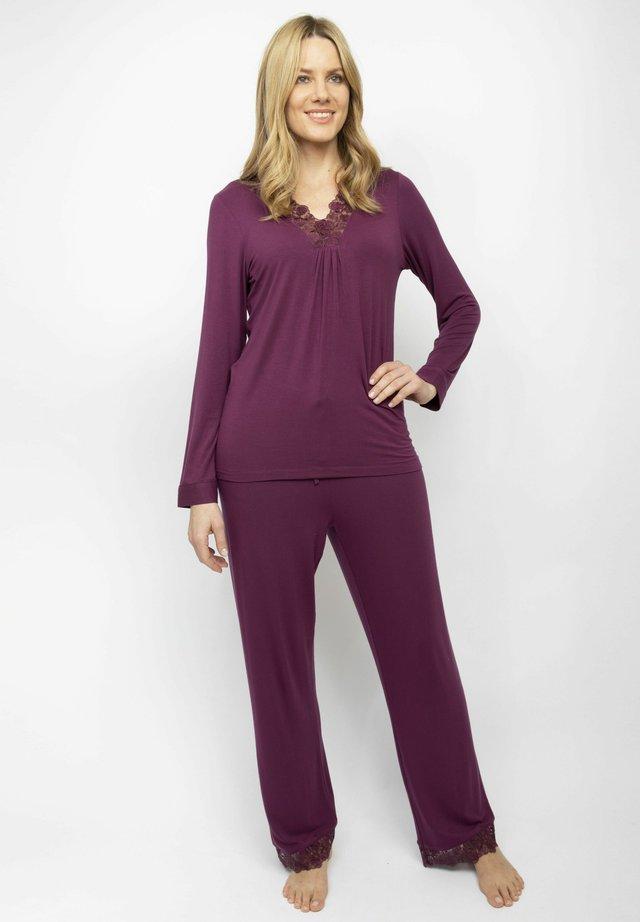 SET - Pyjamas - burgundy